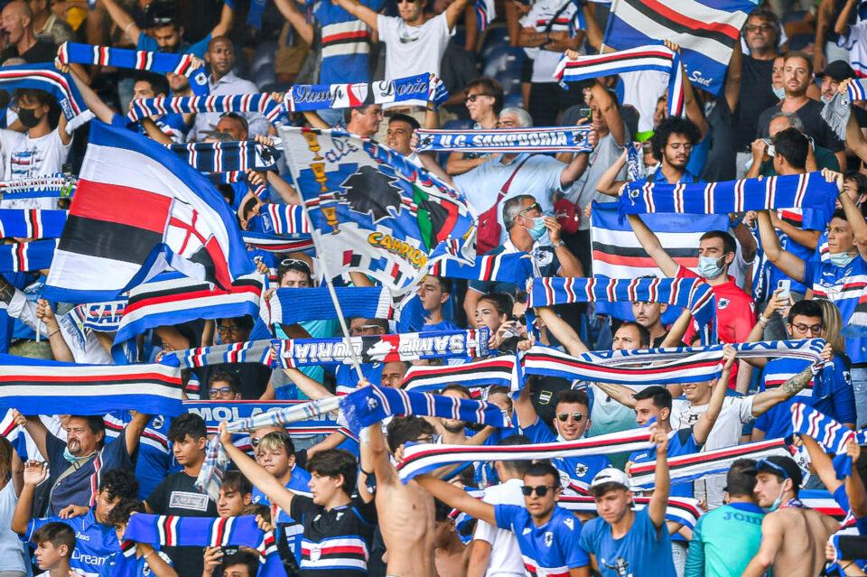 I tifosi doriani presenti a Marassi