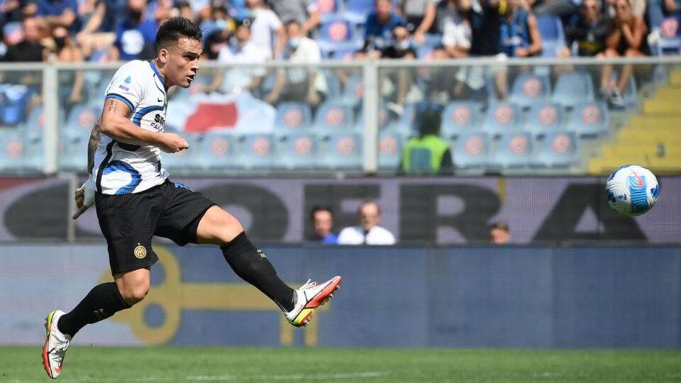 Il gol di Lautaro. Inter di nuovo avanti