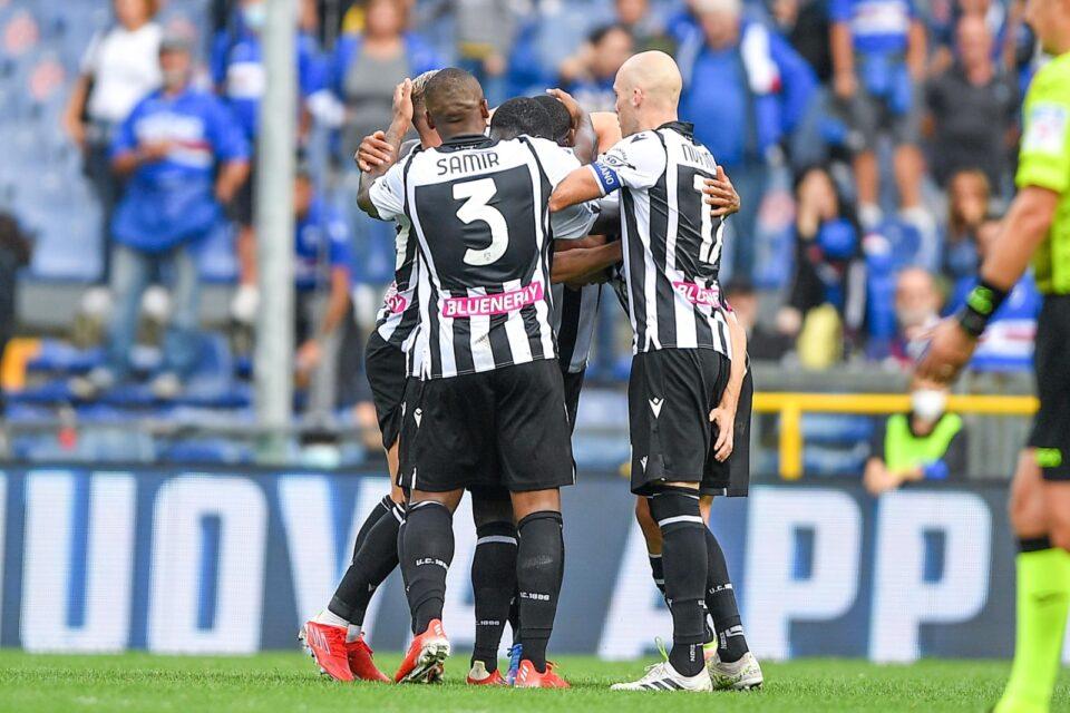 Abbracci in casa Udinese